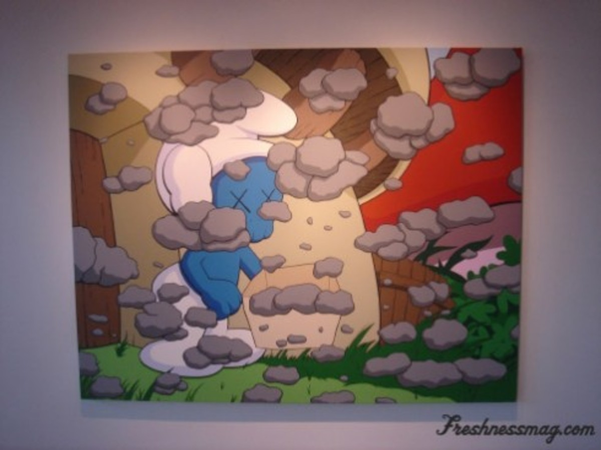 "Event Review: KAWS - ""Saturated"" Show - 9"