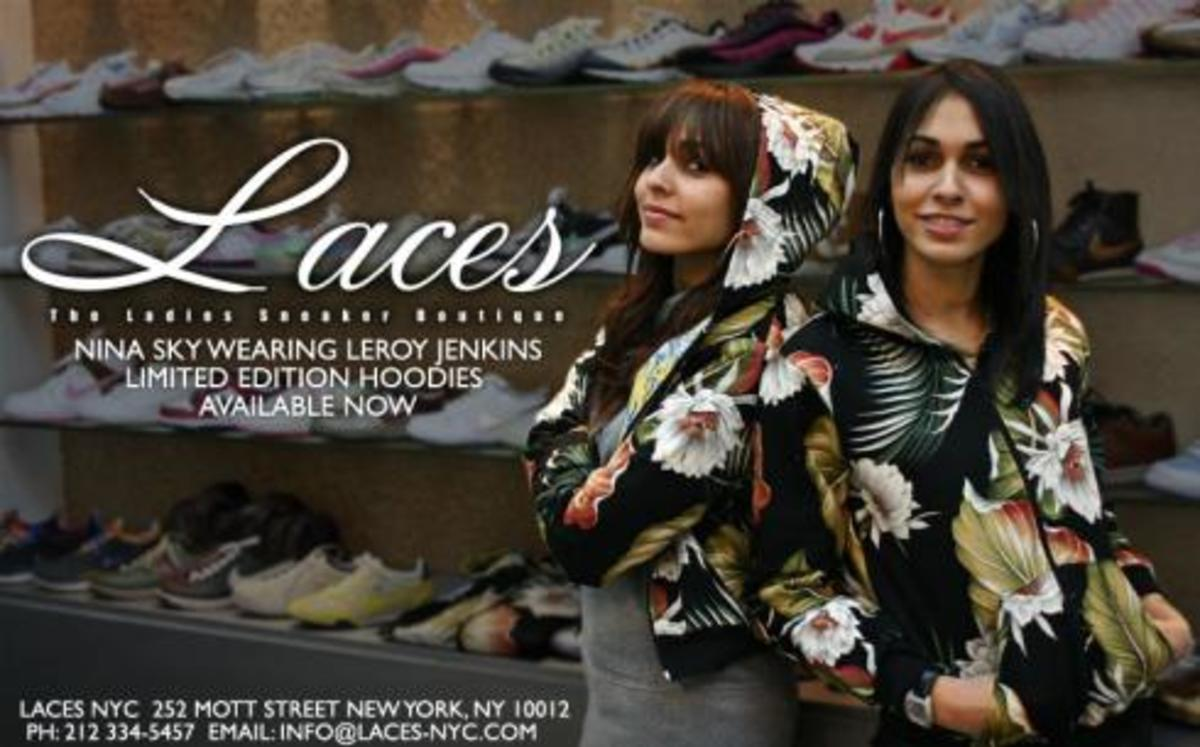 Limited Edition Leroy Jenkins Hoodies @ Laces - 0