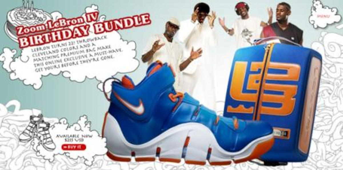 Nike  Zoom LeBron IV (4) - Birthday Bundle - 0