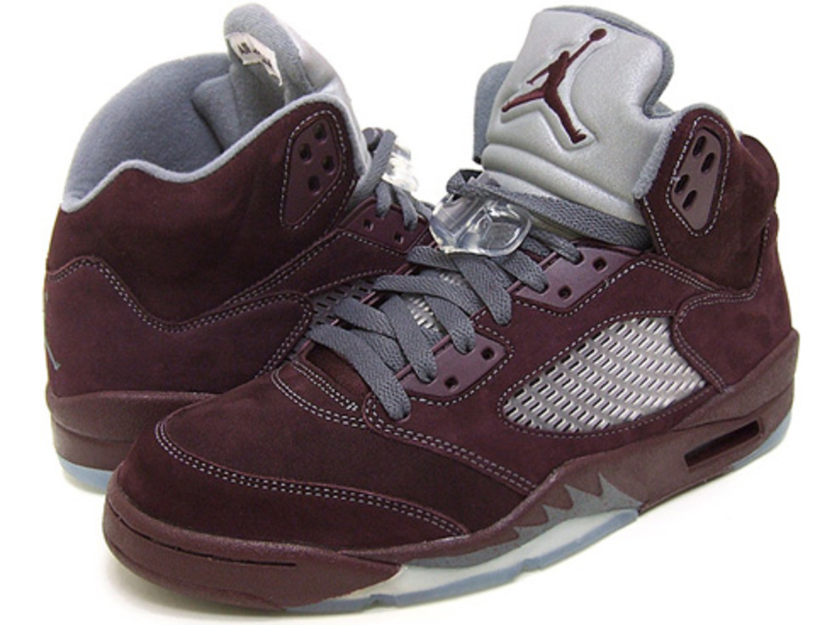 Air Jordan 5 (5) - LS Burgundy @ essense - 0
