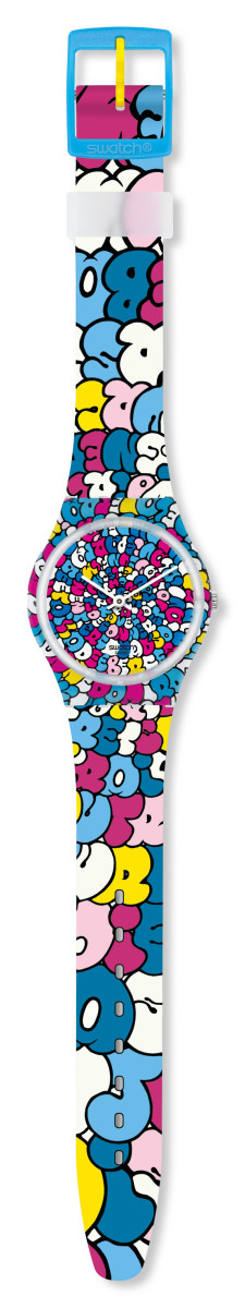 Kidrobot for Swatch - Tilt Gent Watch