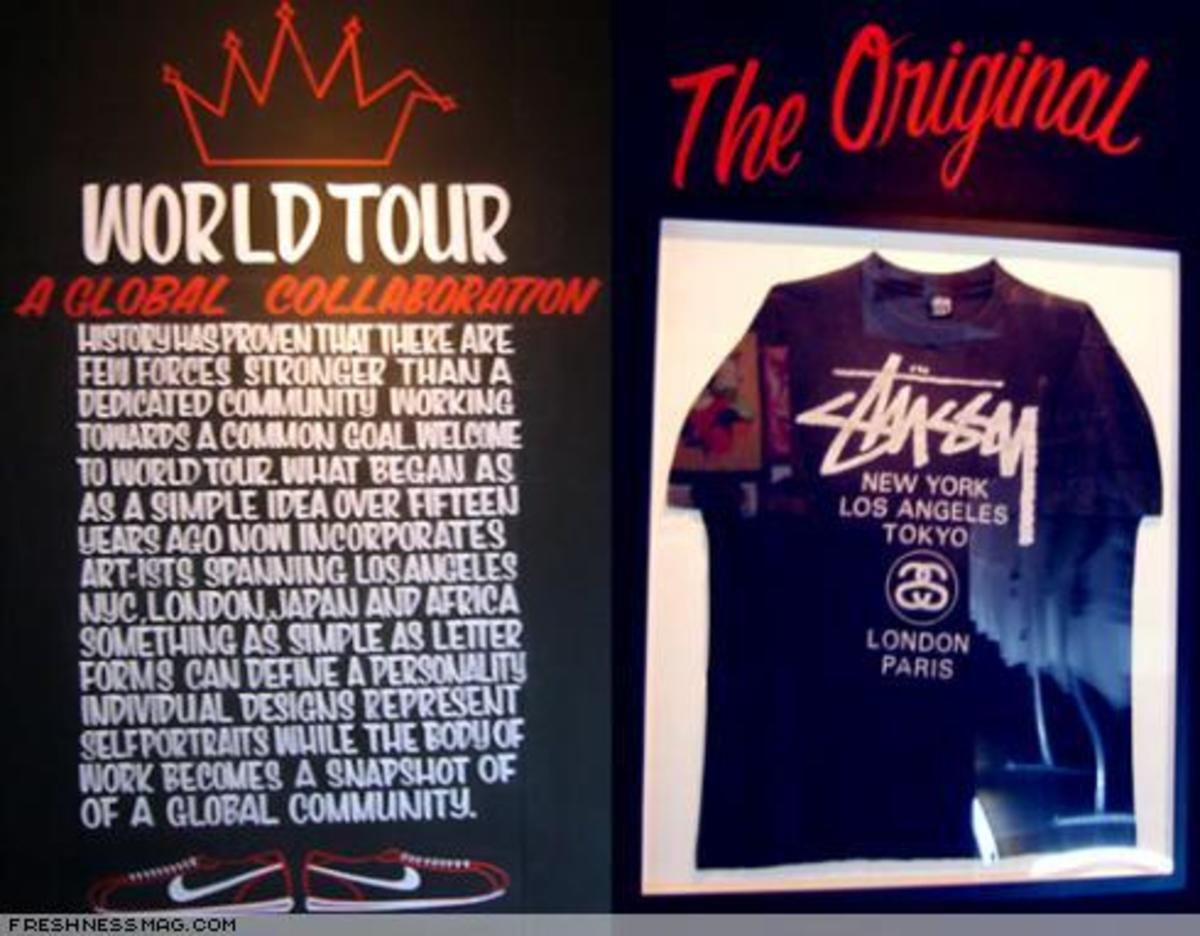 Stussy World Tour - A Global Collaboration TYO - 1