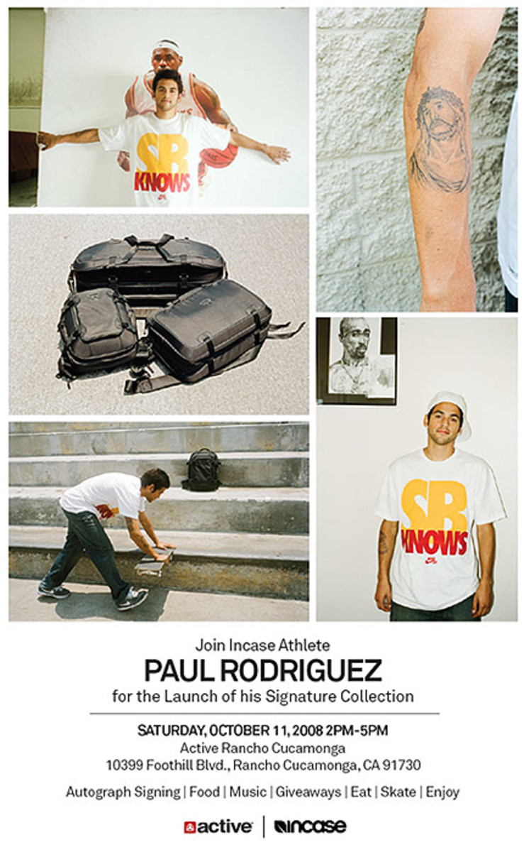 active - Paul Rodriguez Autograph Session