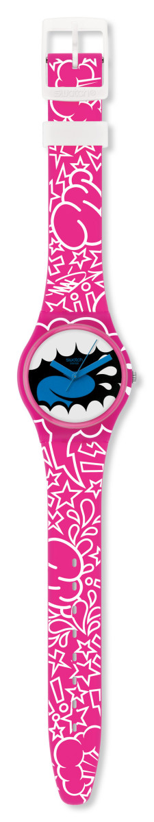 Kidrobot for Swatch - MAD Gent Watch