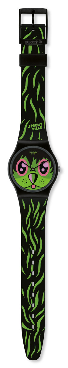 Kidrobot for Swatch - Jeremyville Gent Watch