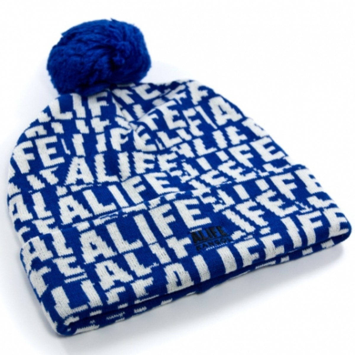 ALIFE x Kangol - Stuck Up Pom Pom - Blue