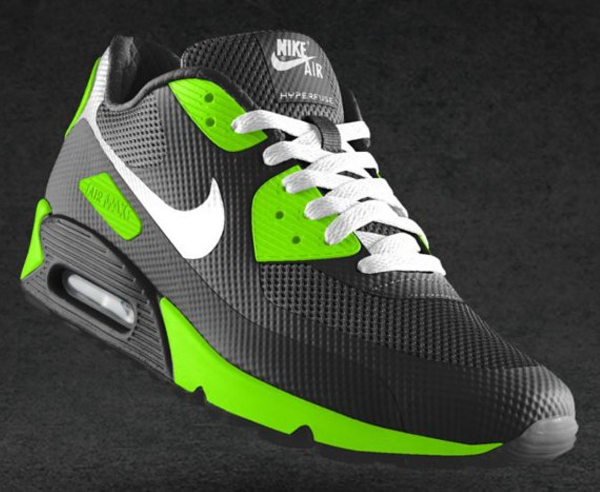 plus récent b5d6a 8d5fb NIKEiD Air Max 90 Hyperfuse Design Options | Available Now ...