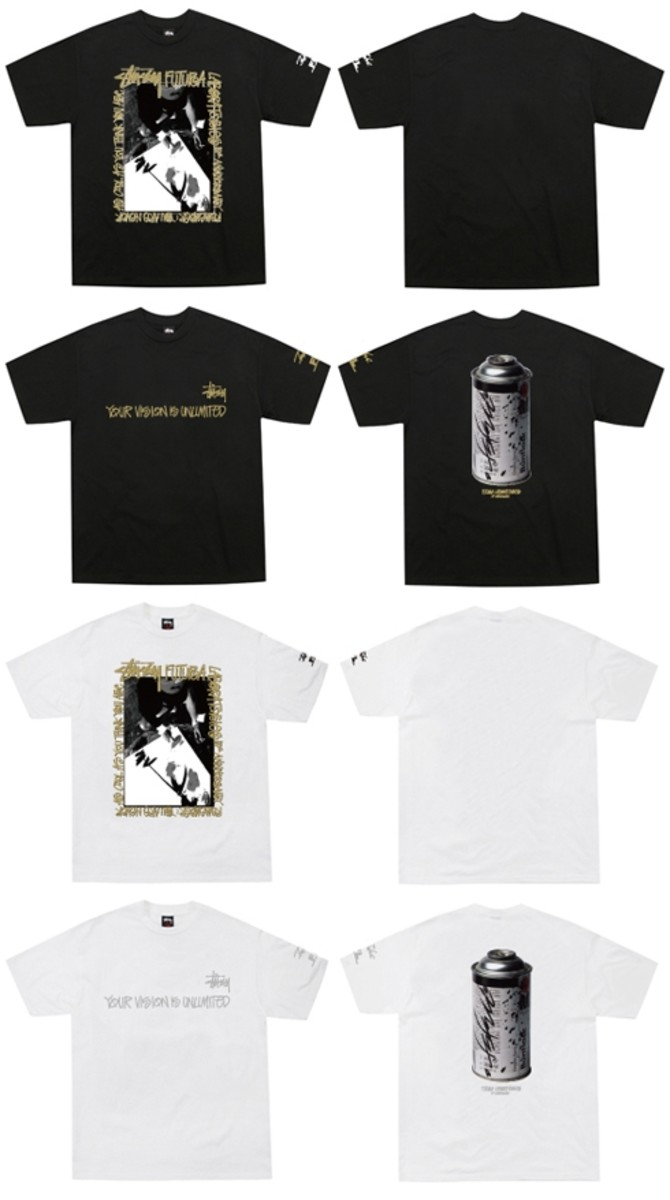 Stussy x FUTURA LABORATORIES (FL) - 10th Anniversary T-Shirt (FL Version)