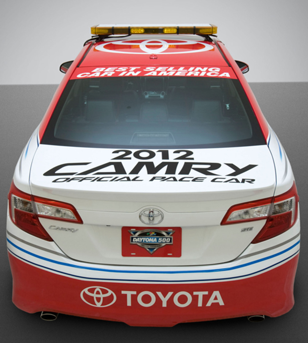 toyota the new camry 2012 daytona 500 pace car. Black Bedroom Furniture Sets. Home Design Ideas