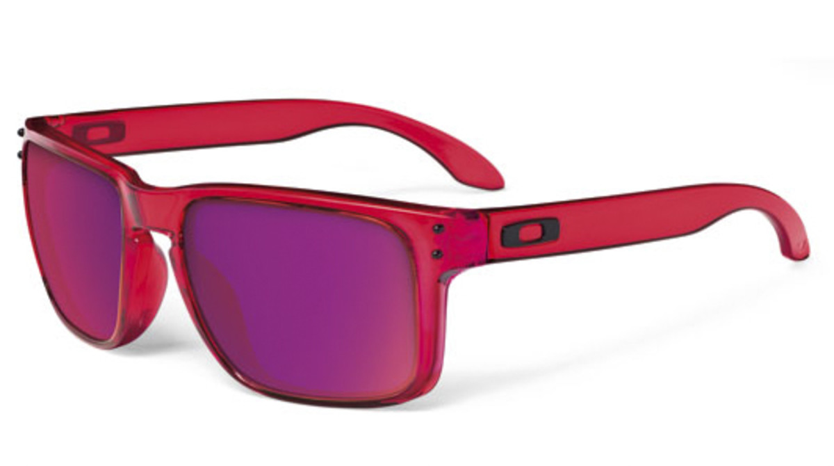 30f9af828f Oakley Holbrook Shaun White Signature Clear Smoke Iridium
