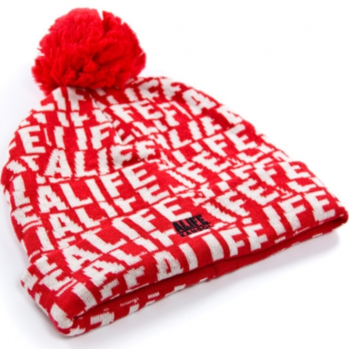 ALIFE x Kangol - Stuck Up Pom Pom - Red