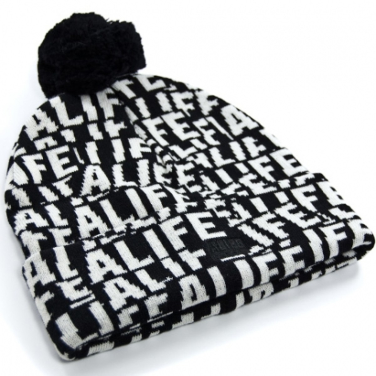 ALIFE x Kangol - Stuck Up Pom Pom - Black
