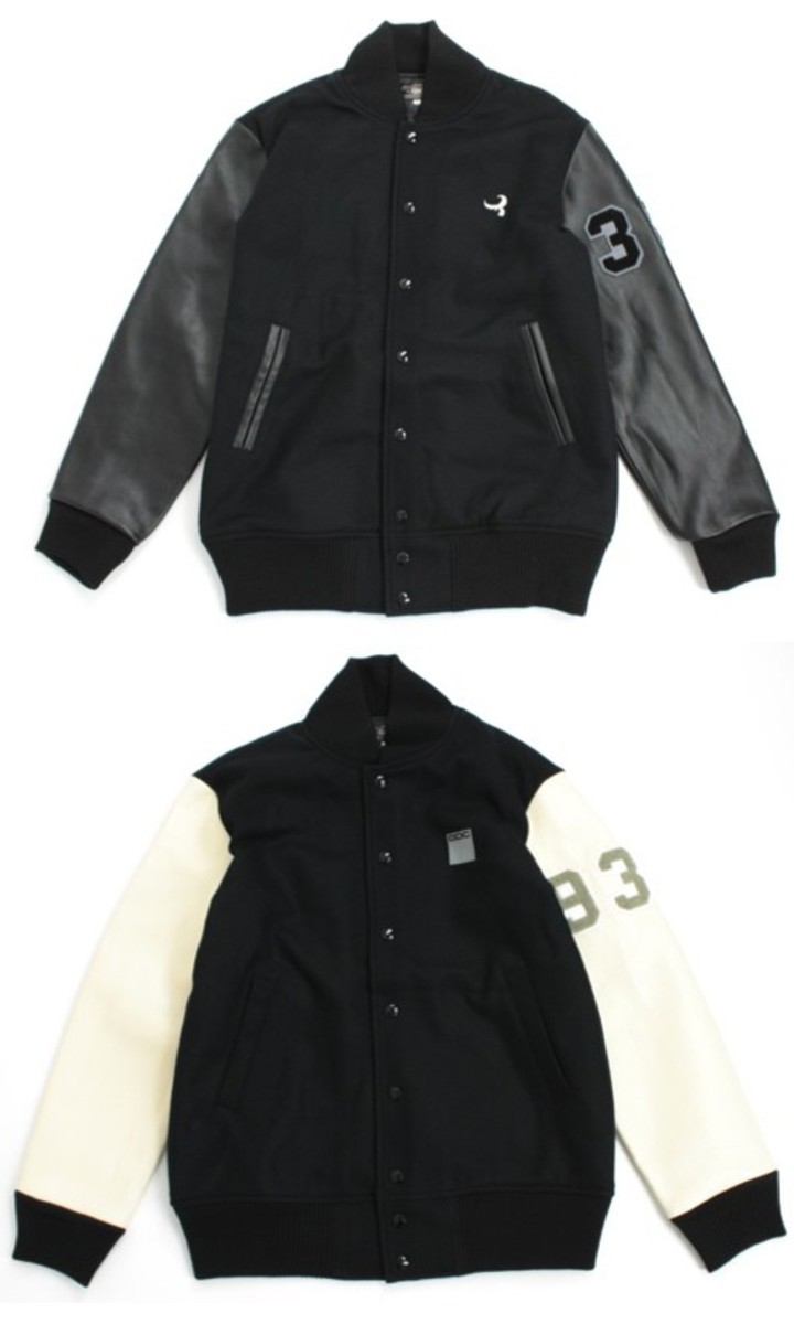 GDC - 10th Anniversary Stadium Jacket - Snow Crystal & Lotus