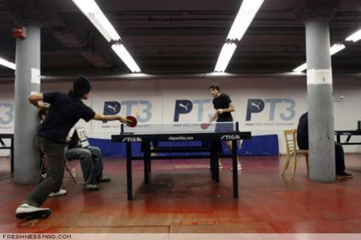 PUMA Table Tennis Tournament PT3 - Season 2 - 5