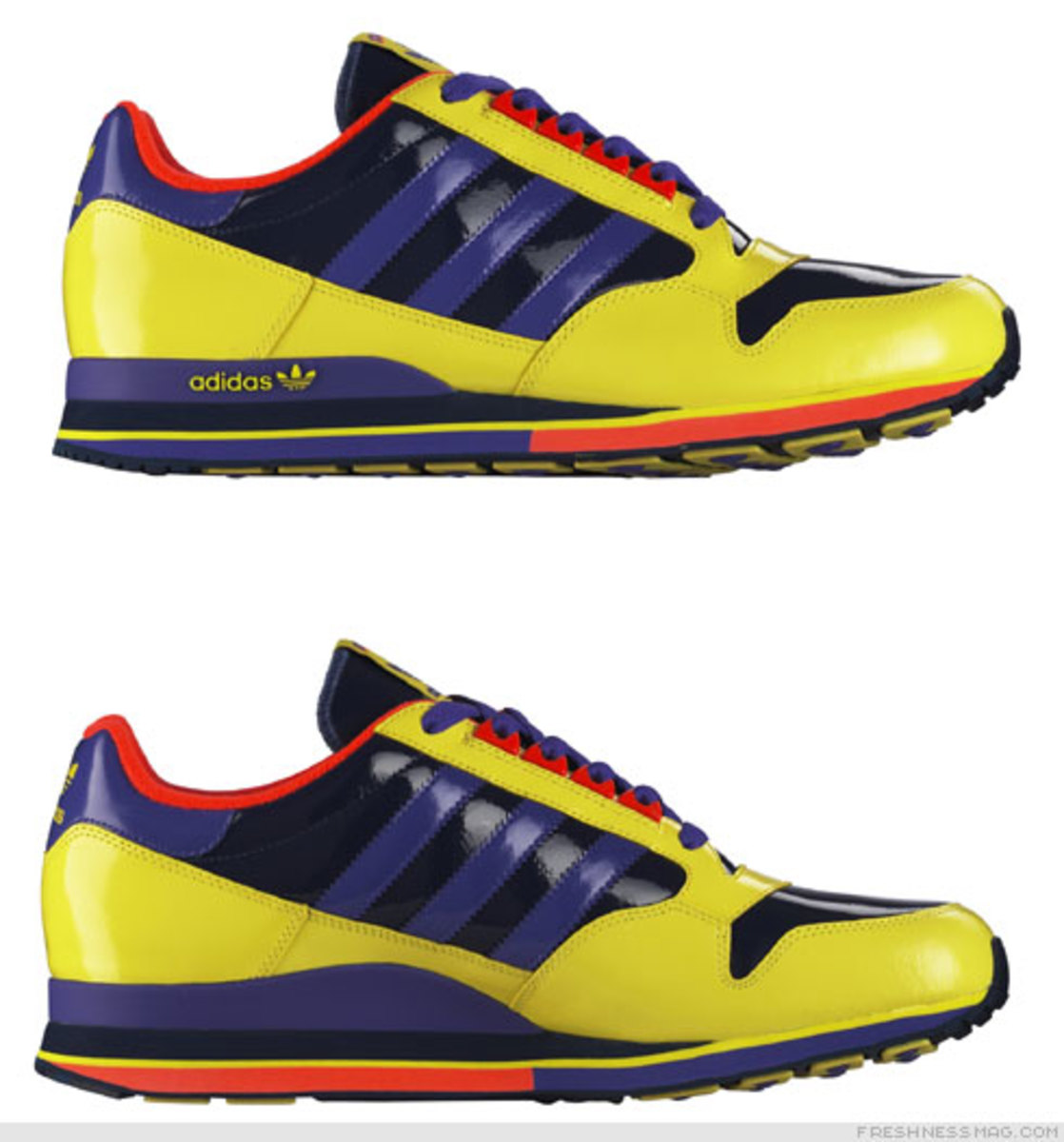 Freshness Feature: Adidas ZX Family - Patent Pack - 1