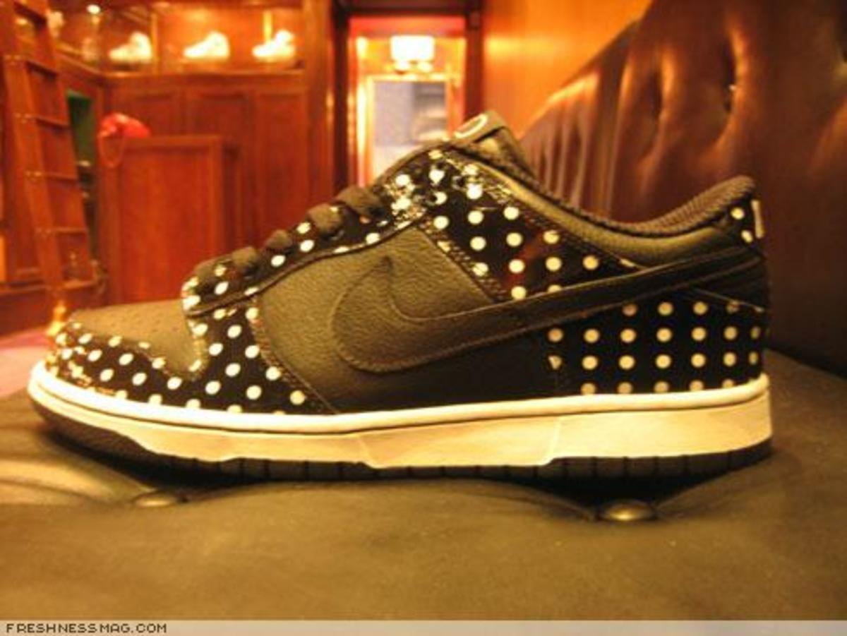 Black Polka Dot Pack - Dunk, Air Force 1 + Footscape - 3