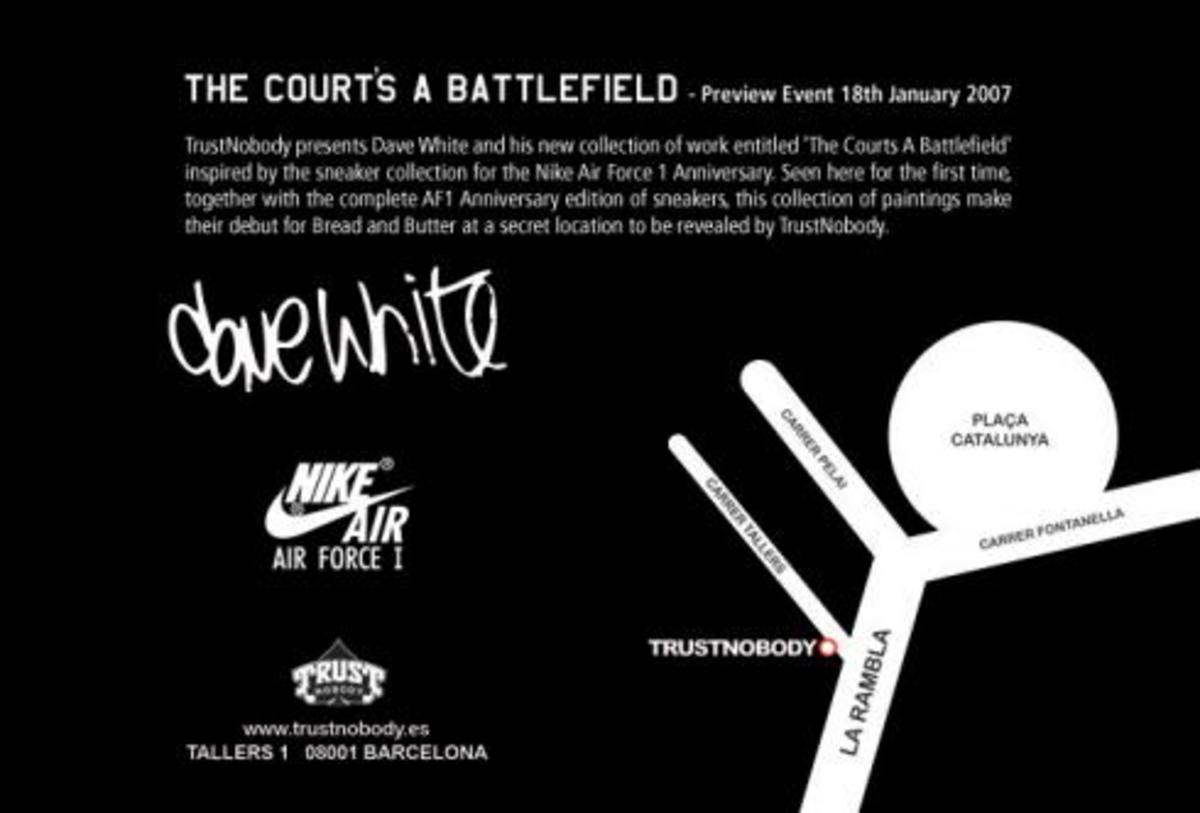 The Court's A Battlefield - Dave White / Trust Nobody - 0