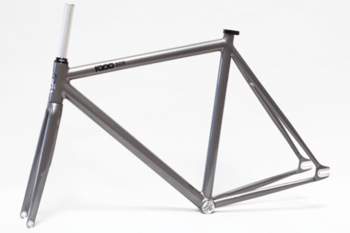 Leader Bike x PEDAL Consumption - The Kagero Fixed Gear Frameset ...