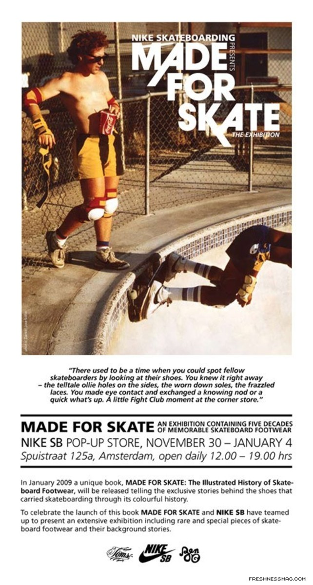 Made For Skate Book + Exhibition in Amsterdam