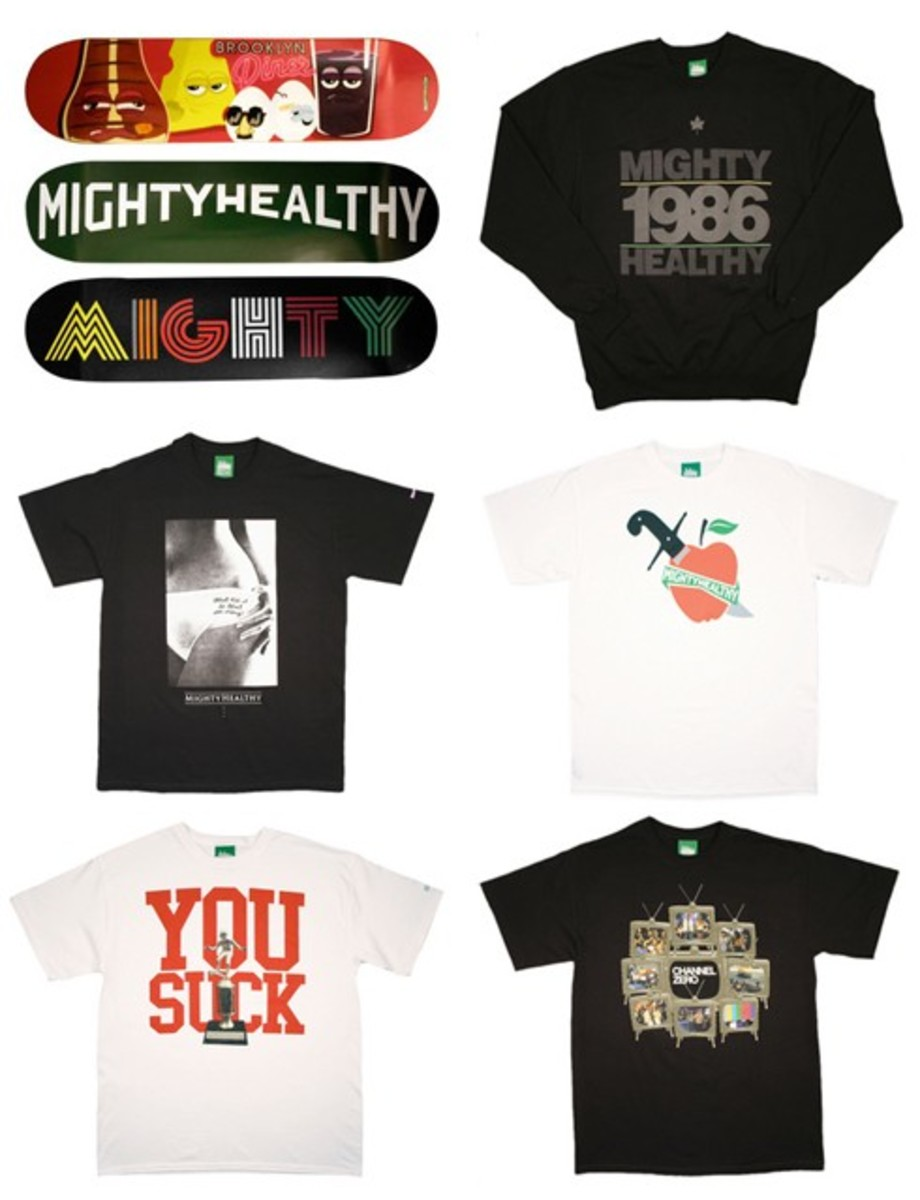 Mighty Healthy - F/W 2008 Collection - Available Now