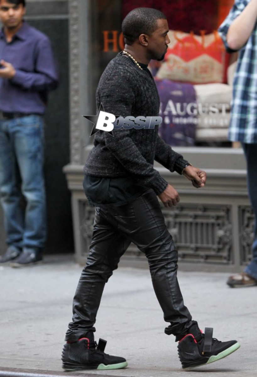 Kanye West in New York.