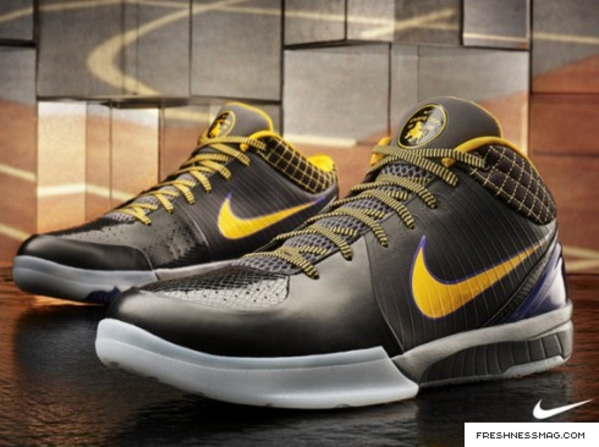 Nike Zoom Kobe IV - Officially Unveiled