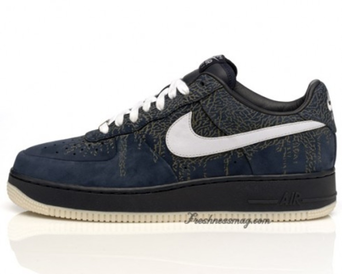 Nike Air Force 1 - Spring 2009 - Elephant Print Pack - 3
