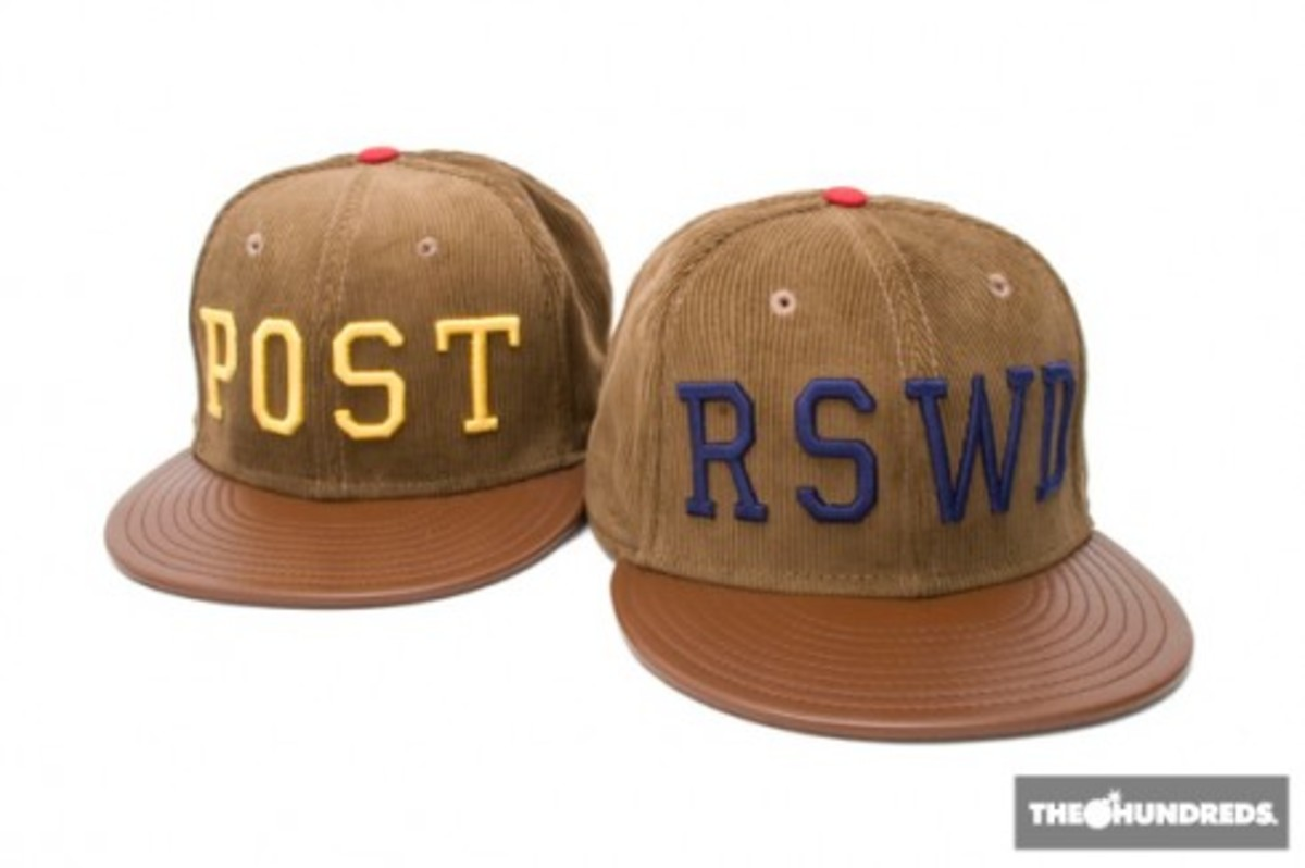 The Hundreds x New Era - RSWD + POST Hats - 0