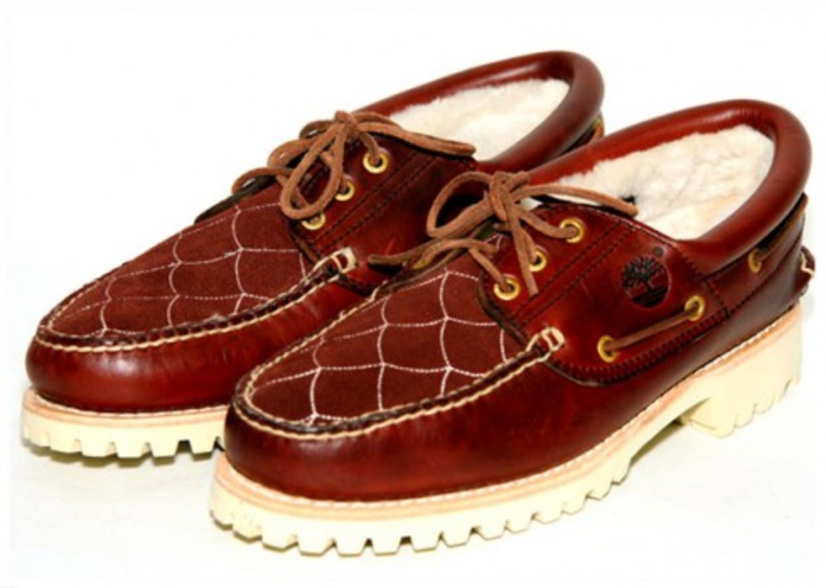UNDEFEATED (UNDFTD) x Timberland x WTAPS - 3 Eye Boat Shoe