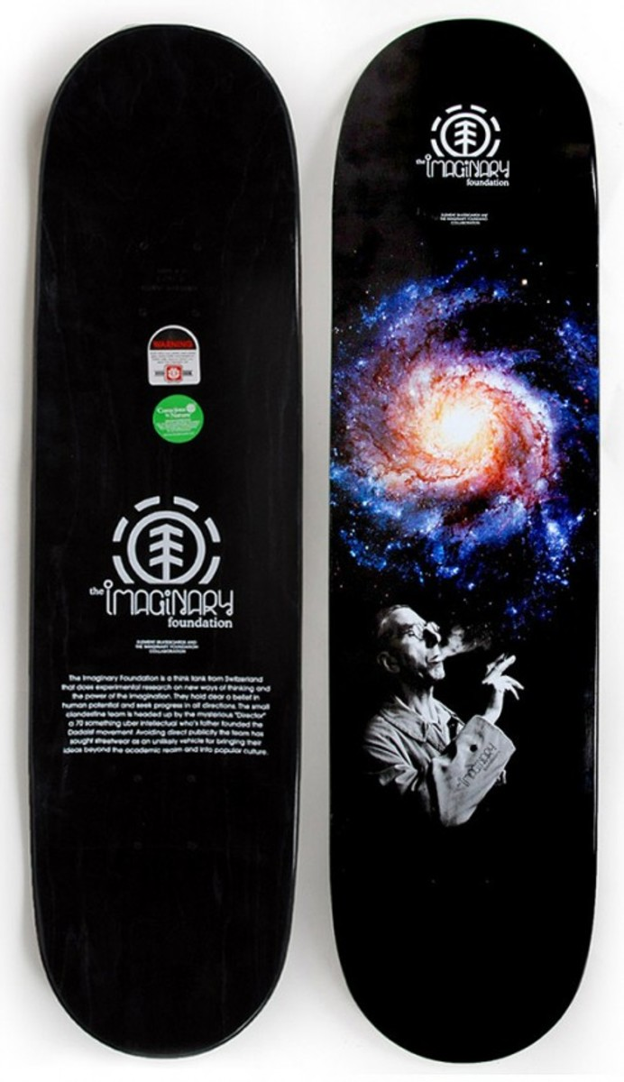 Imaginary Foundation x element Skateboards -  Infinite