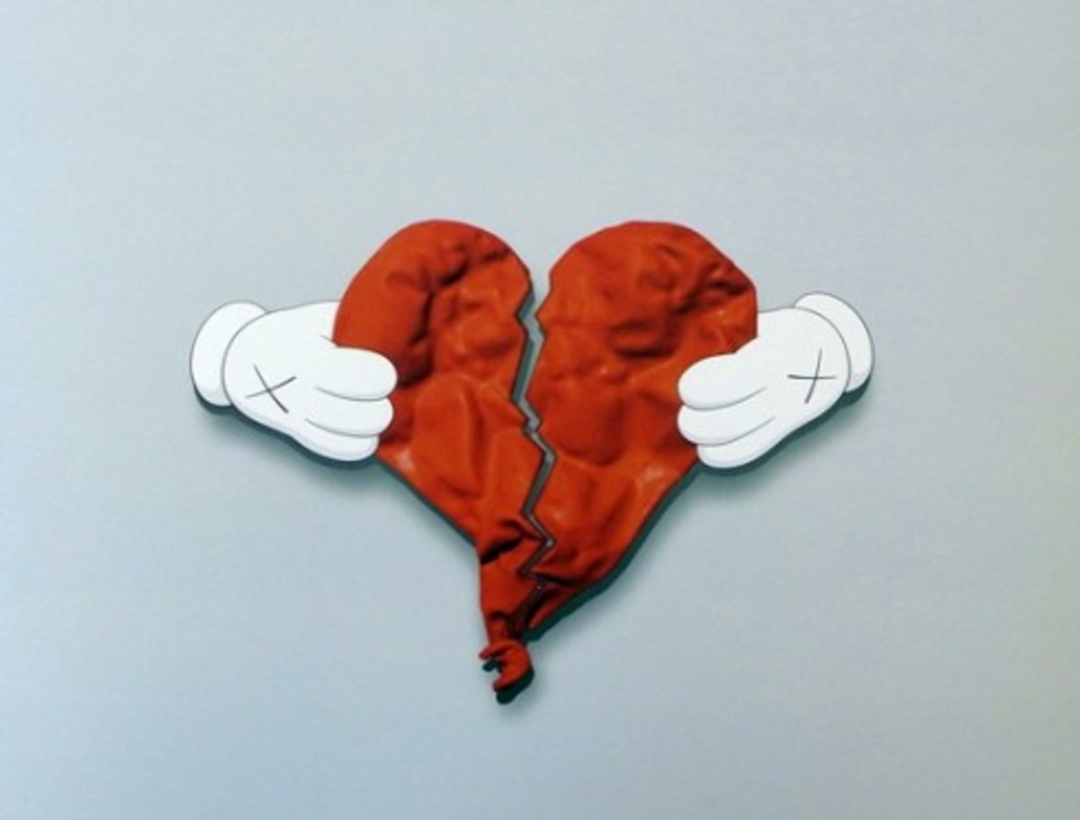 KAWS x Kanye West - 808's and Heartbreak Billboard - 2
