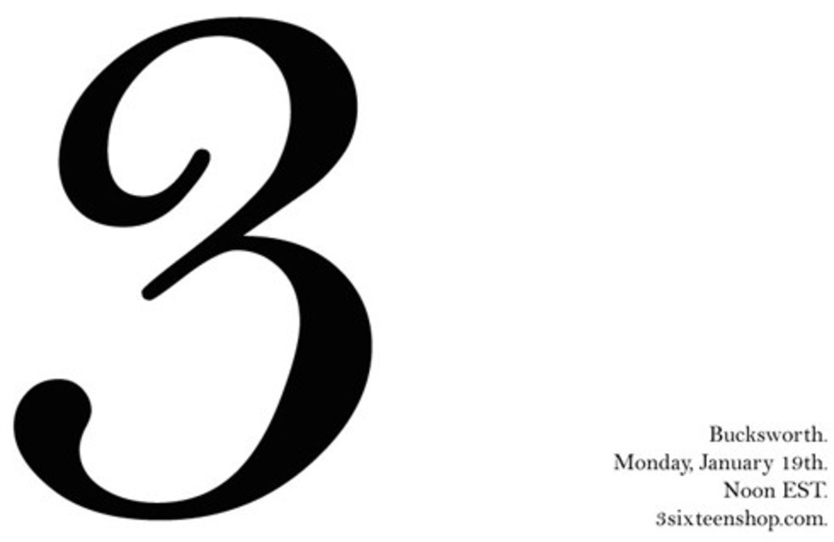3sixteen - Bucksworth 3 - One Day Only Sale Event