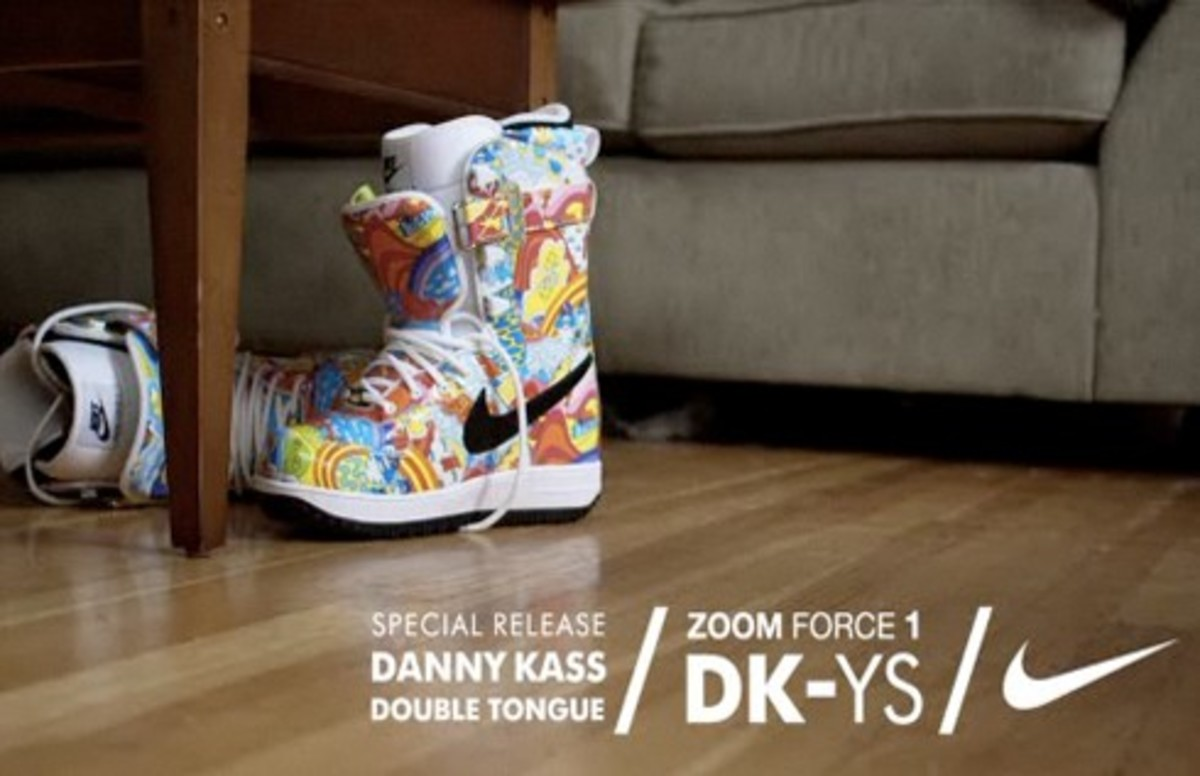 Nike Snowboarding x Arbito - Danny Kass Zoom Force 1 (DK-YS) | Double Tongue