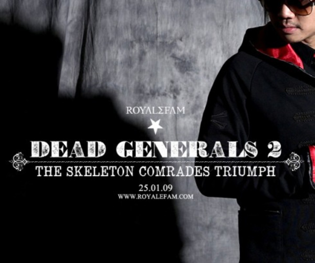 Royalefam - Fall/Winter 08-09 - Dead Generals 2 Collection - Preview