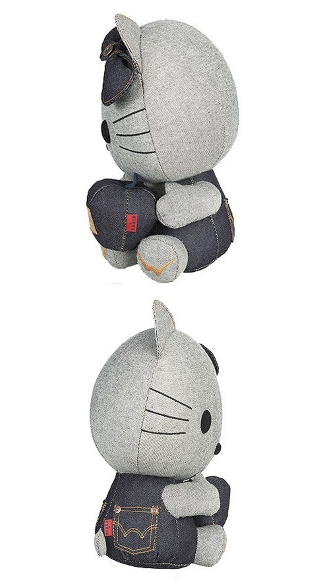 EDWIN x Hello Kitty - Denim Plush Doll