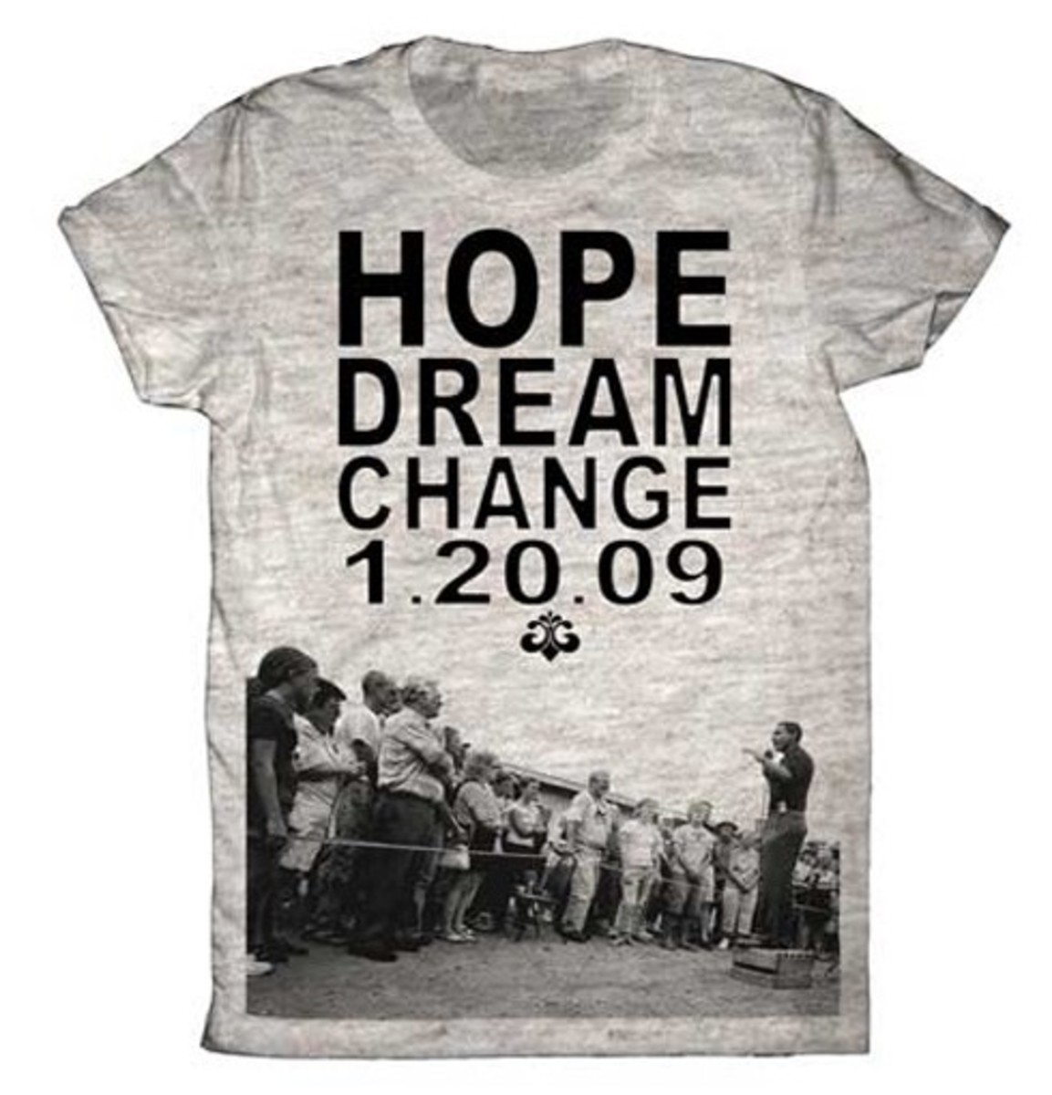 Barack Obama Inaugural: Runway To Change - House of Dereon Unisex T-Shirt