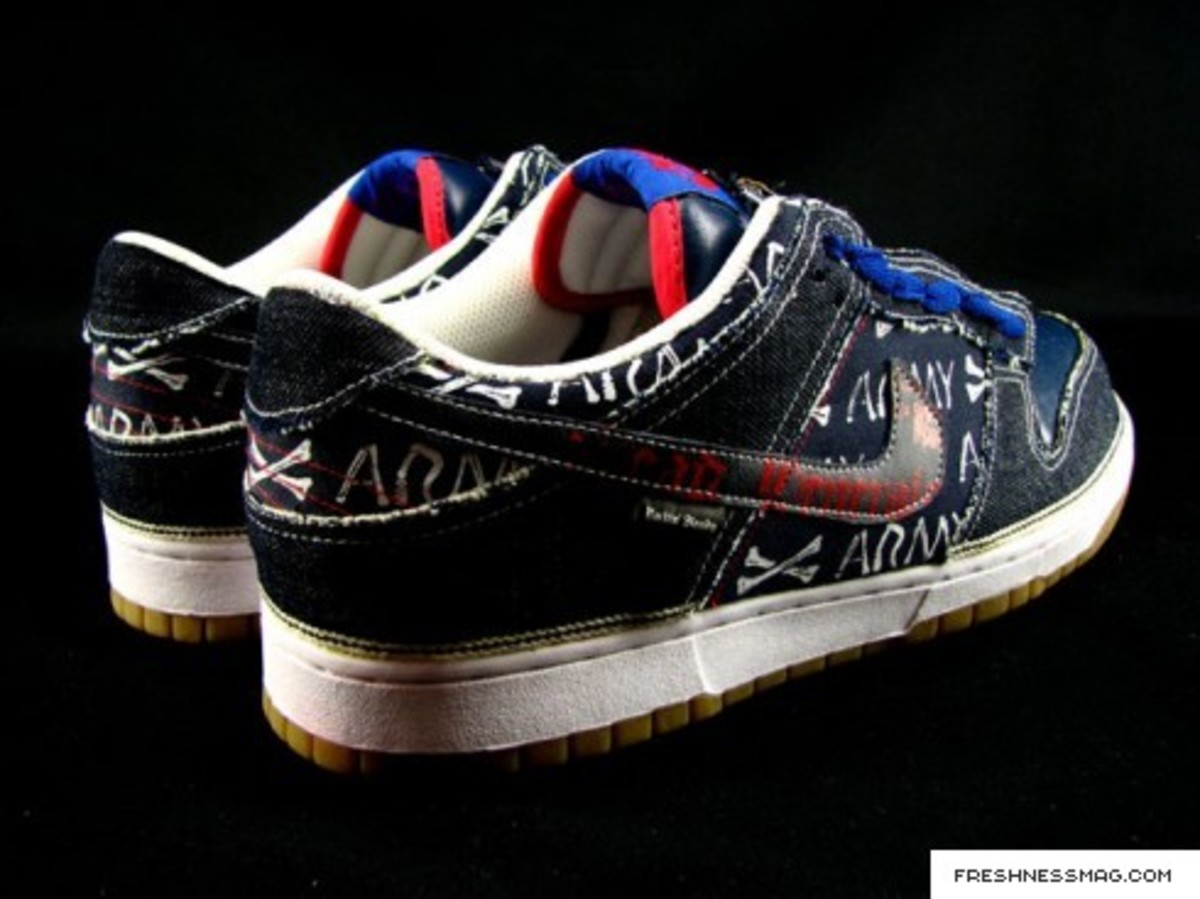 SBTG -Nike Dunk Low - Dead Generals Part 2 - Skeleton Comrade