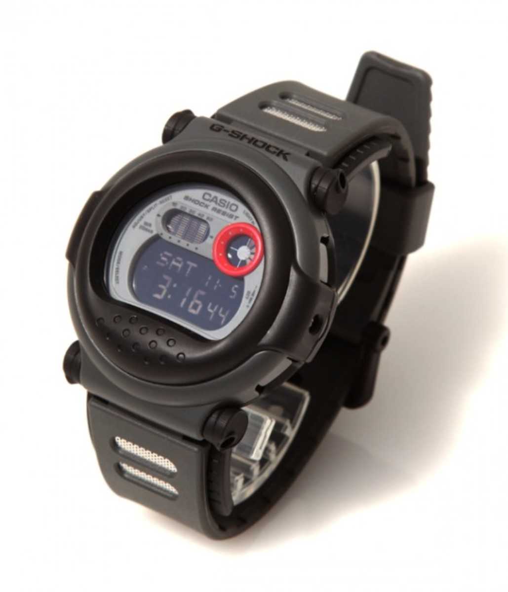 how to set ag shock casio watch