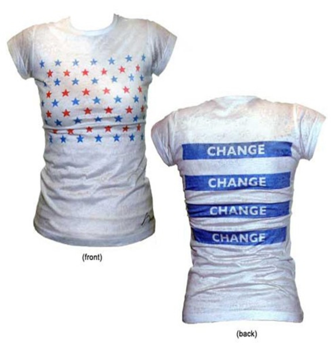 Barack Obama Inaugural: Runway To Change - Narciso Rodriguez Ladies' T-Shirt