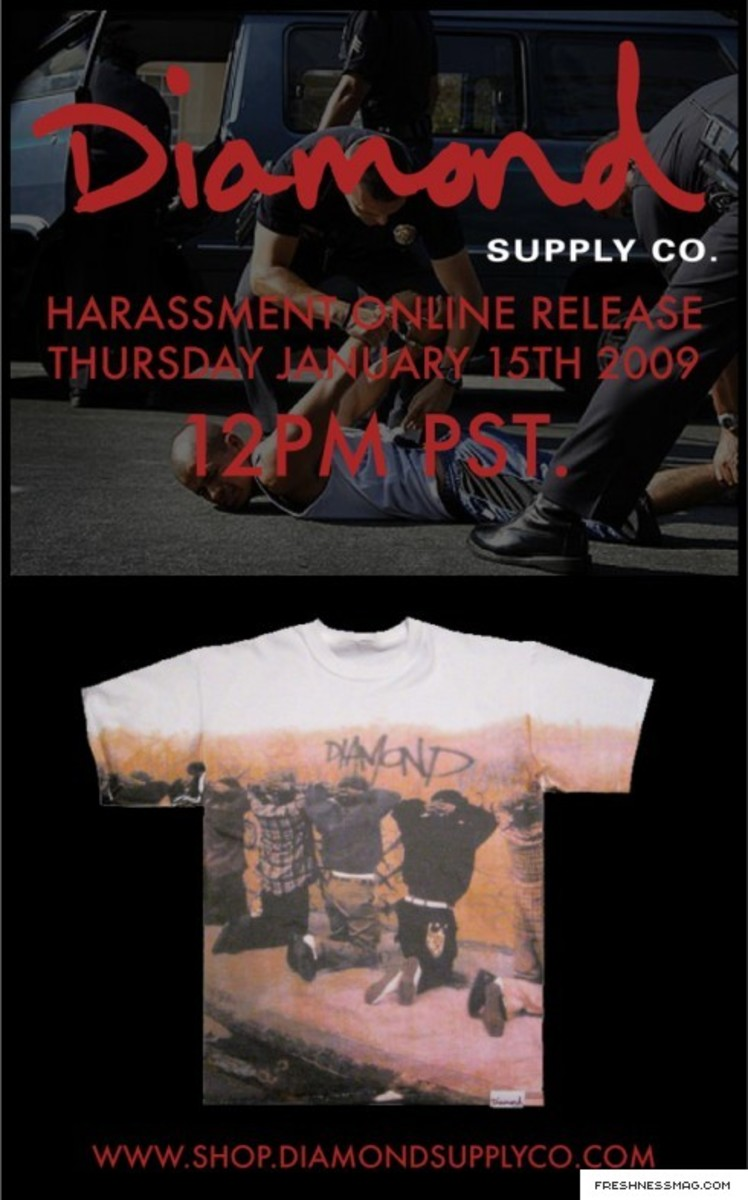 Diamond Supply Co. - Harassment Tee