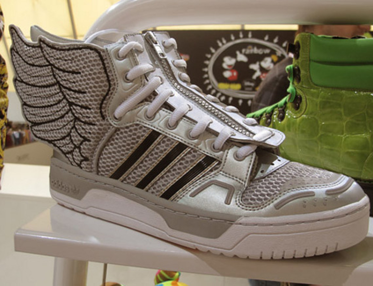 ... 7f7c0 ... hand-written scrawls and butterfly wings are the  look out  for 67ffe c5ffa Image of adidas Originals by Jeremy Scott 2012 FallWinter  Preview ... e3146c7776ee