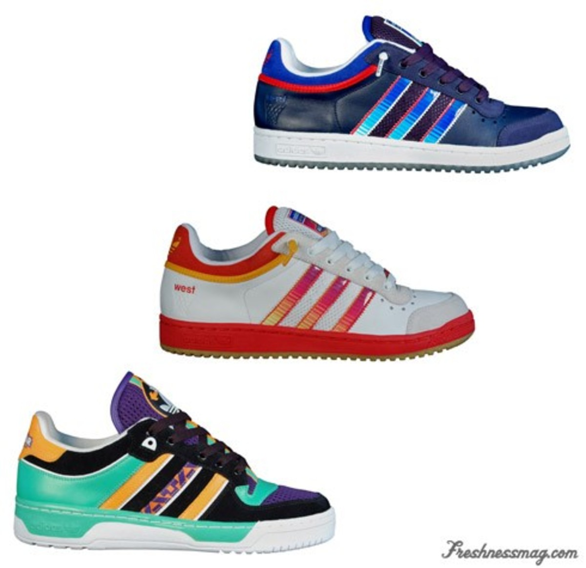 sufrir Cambiable Igualmente  adidas Originals - NBA All Star Attitude Lo + Top Ten Lo - Freshness Mag