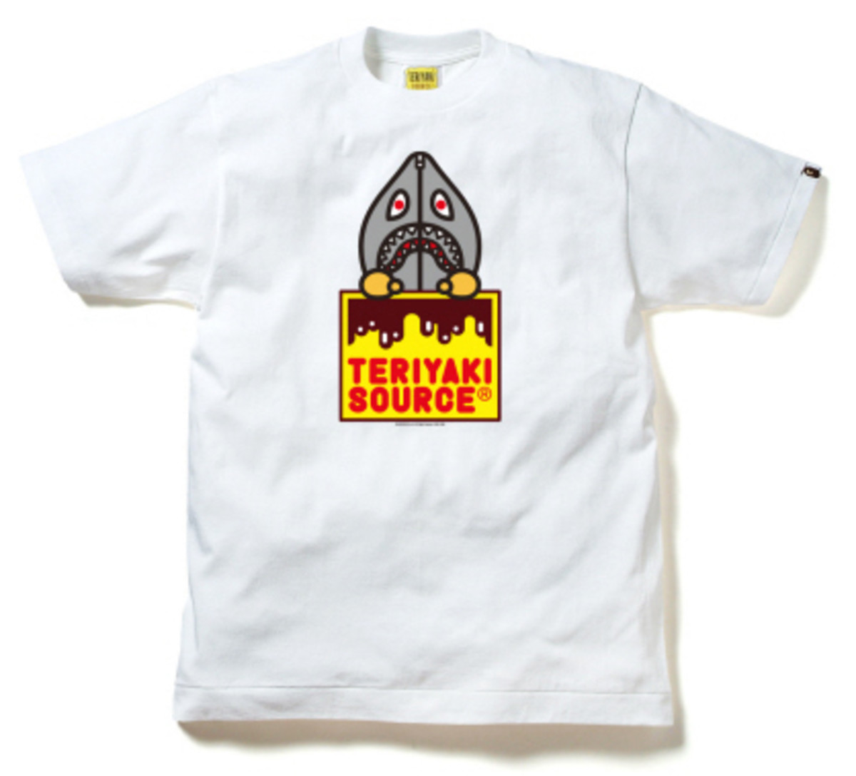 BAPE - Teriyaki Source T-Shirt - Animal Hoodie Print