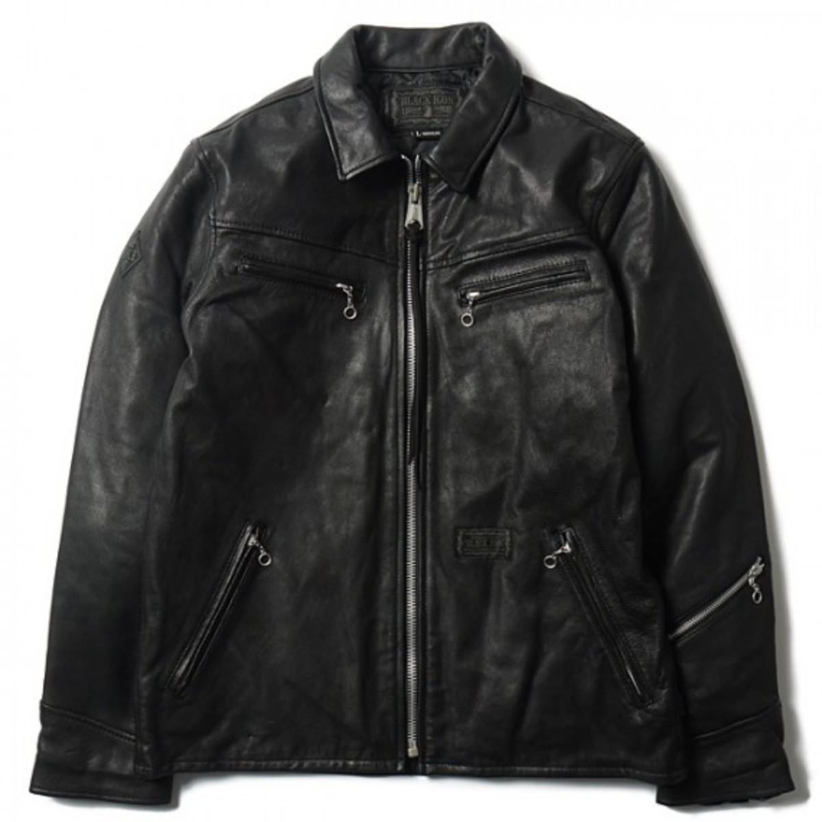 neighborhood-black-icon-black-hills-leather-jacket-01