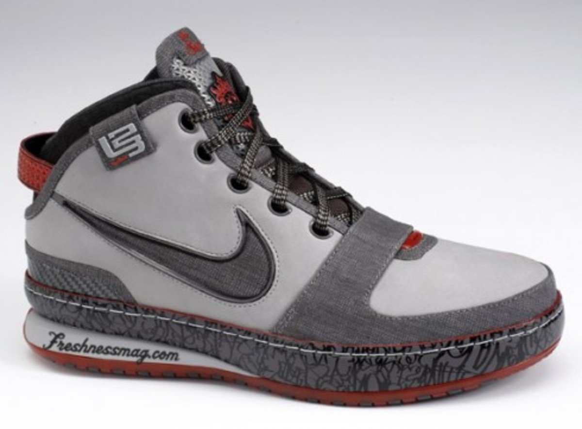 Nike Zoom LeBron VI LA - Los Angeles Edition