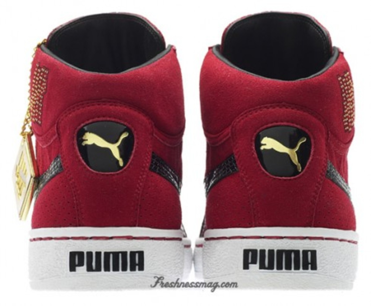 PUMA Mid x Undefeated - 24k Collection
