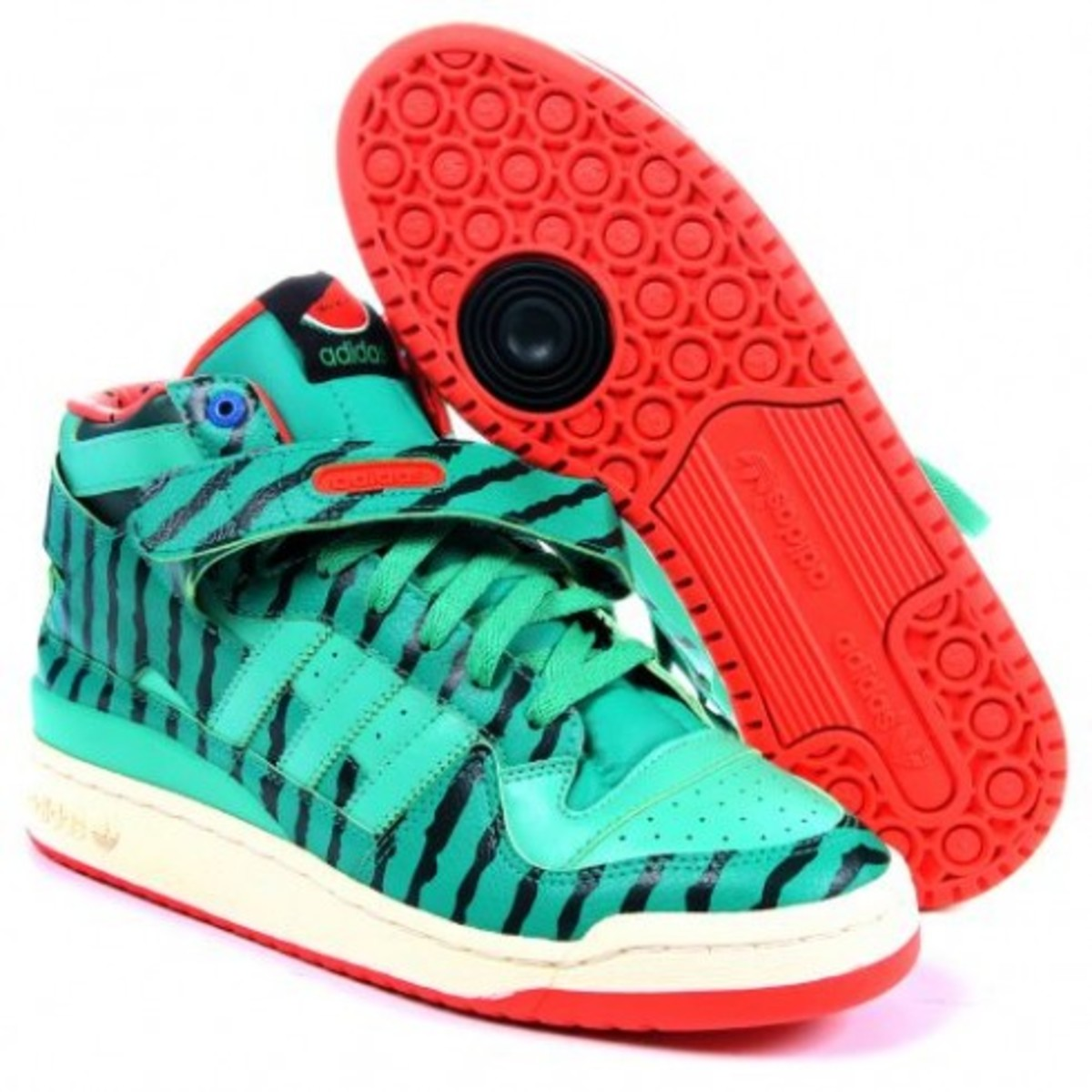 adidas Consortium Forum Mid - Watermelon Edition - 3