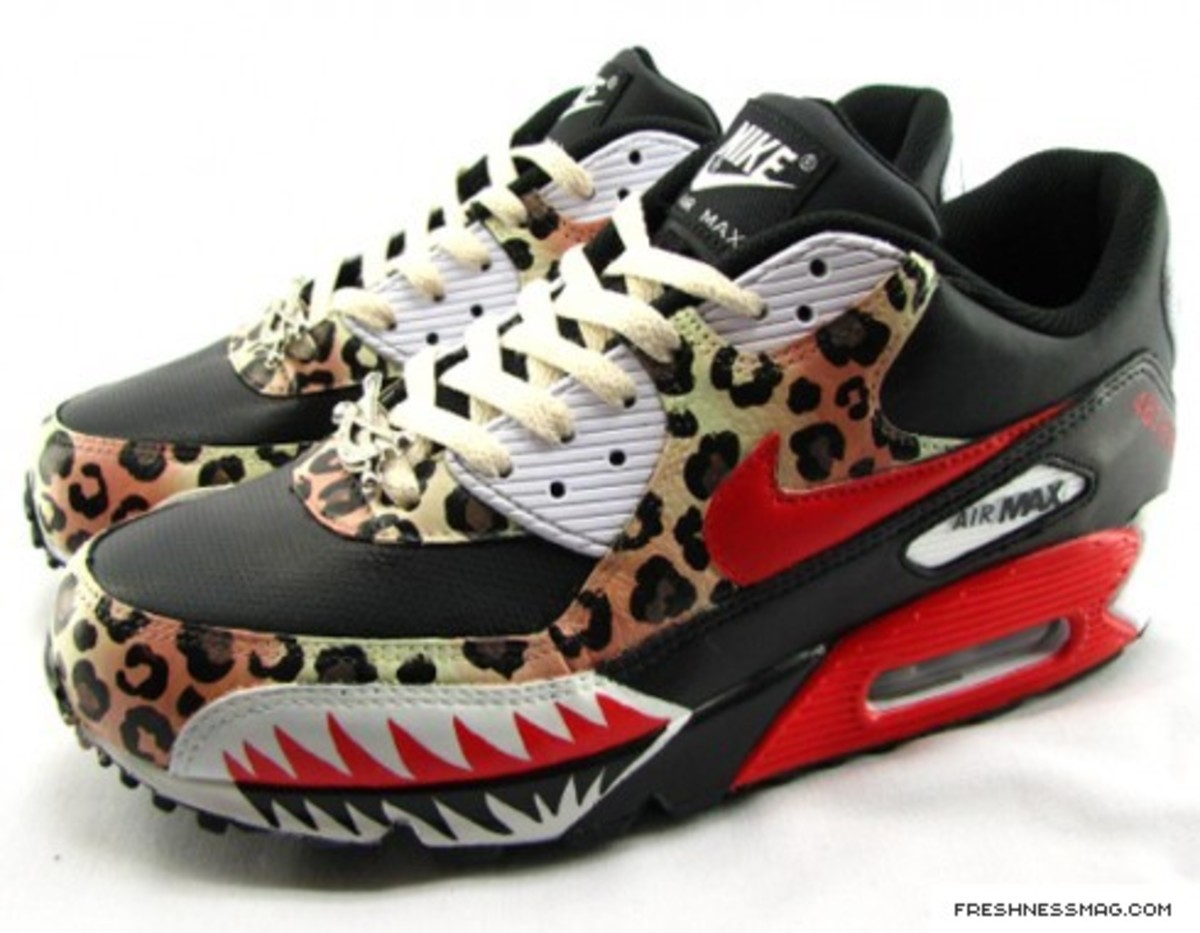 SBTG - Spring 2009 One Of One - Shark Attack Instinct Air Max 90