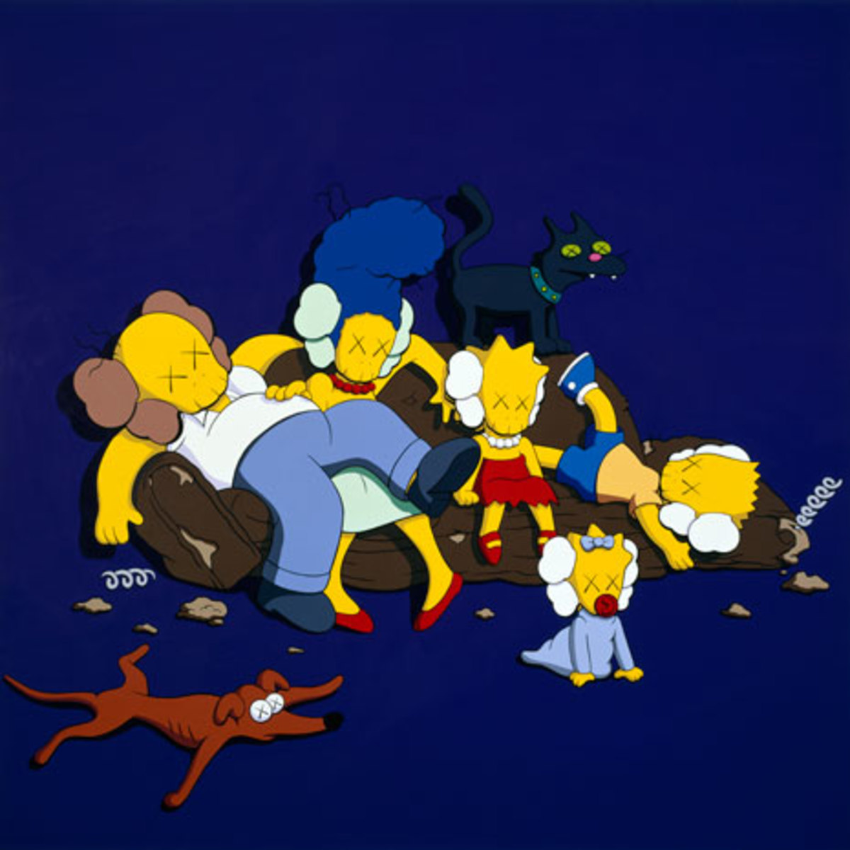 KAWS - The Long Way Home - 2
