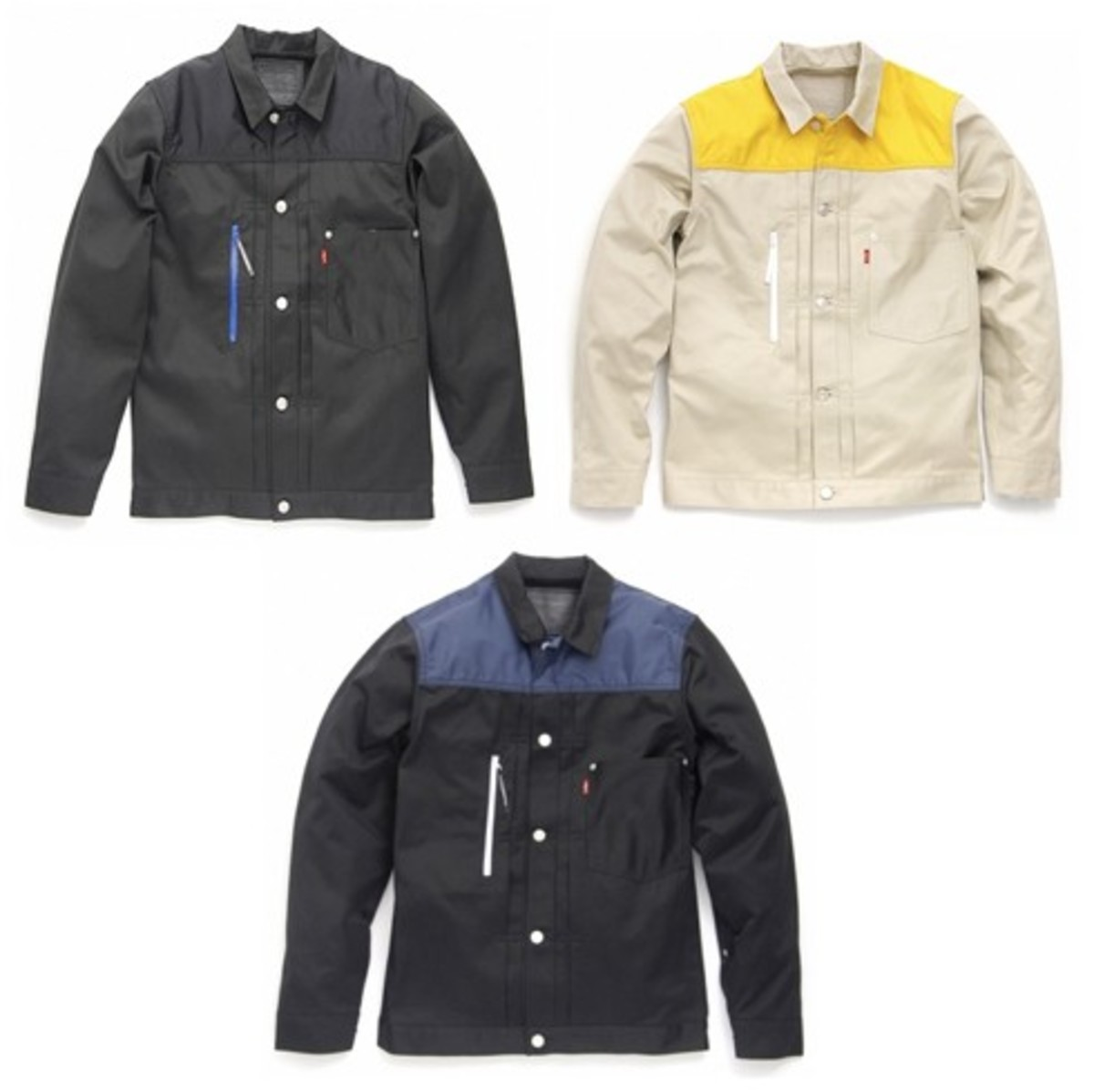Levi's Fenom - Chino Trucker Jacket Customize